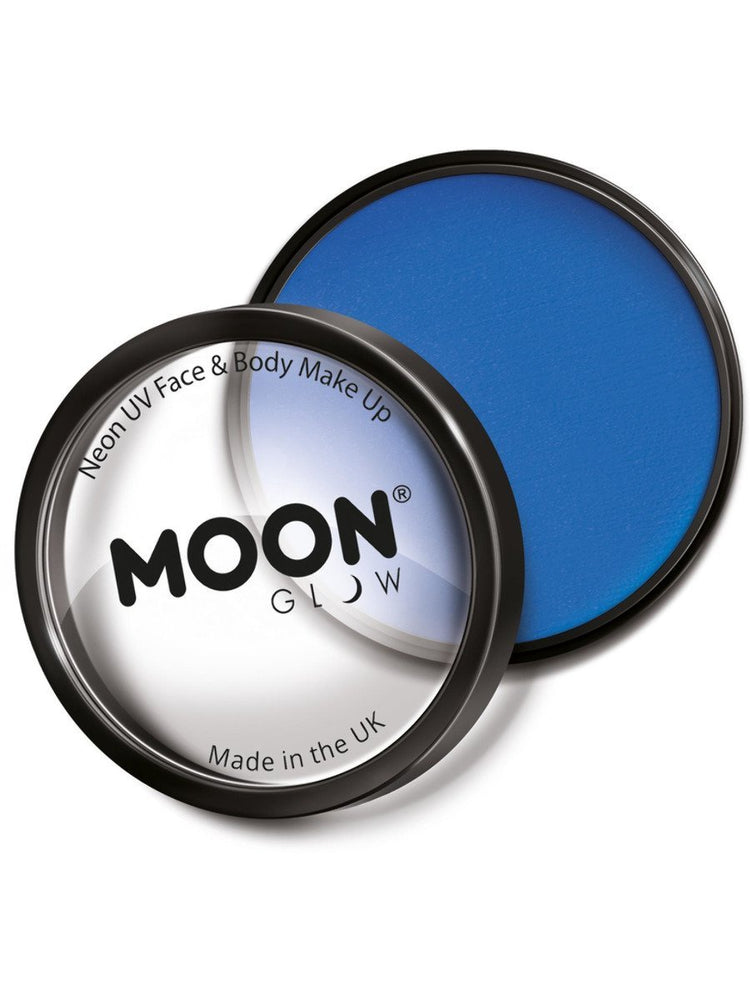 Moon Glow Pro Intense Neon UV Cake Pot - Blue
