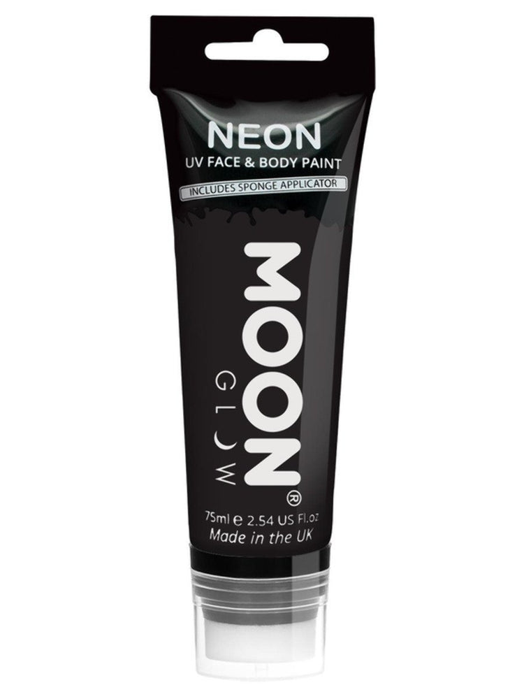 Moon Glow Supersize Intense Neon UV Face PaintM5786