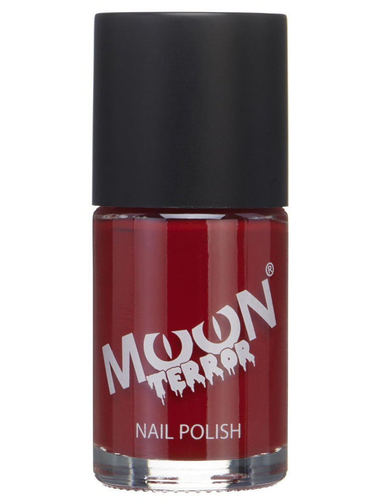 Moon Terror Halloween Nail Polish - Red