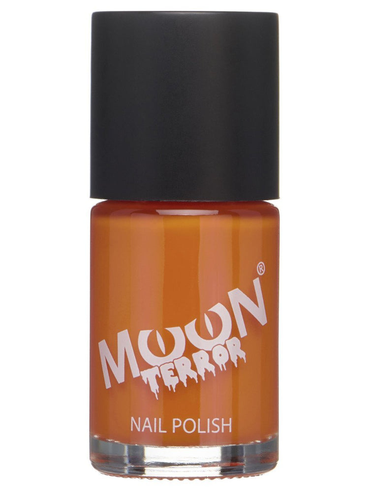 Moon Terror Halloween Nail Polish - Black