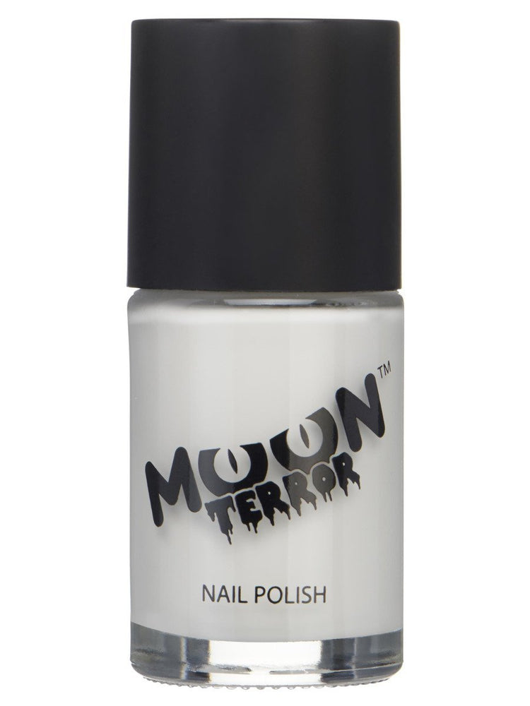Moon Terror Halloween Nail Polish - White