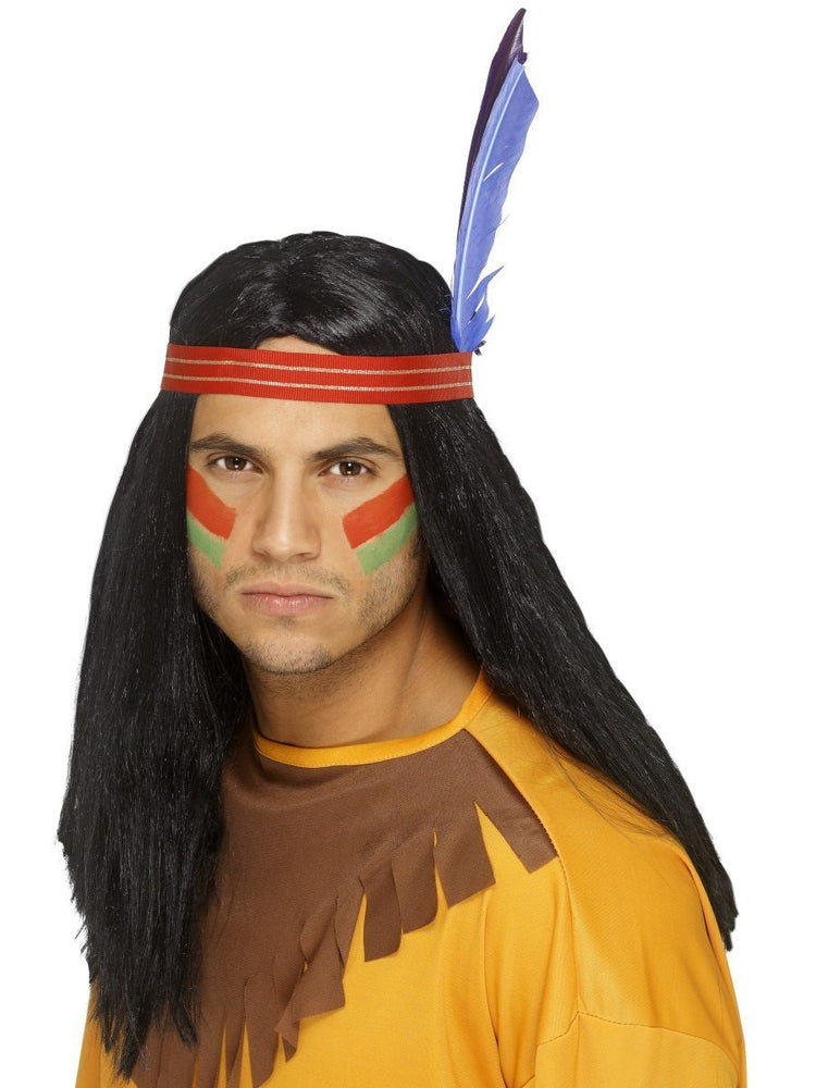 Smiffys Native American Inspired Brave Wig - 42189