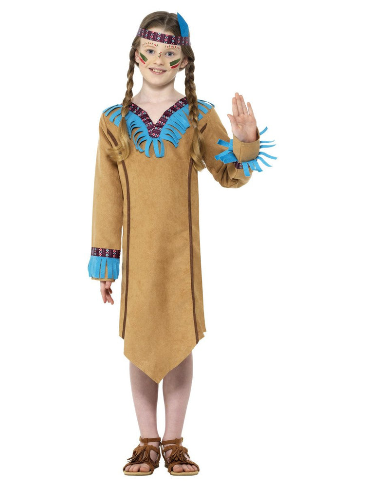 Smiffys Native American Inspired Girl Costume - 47655