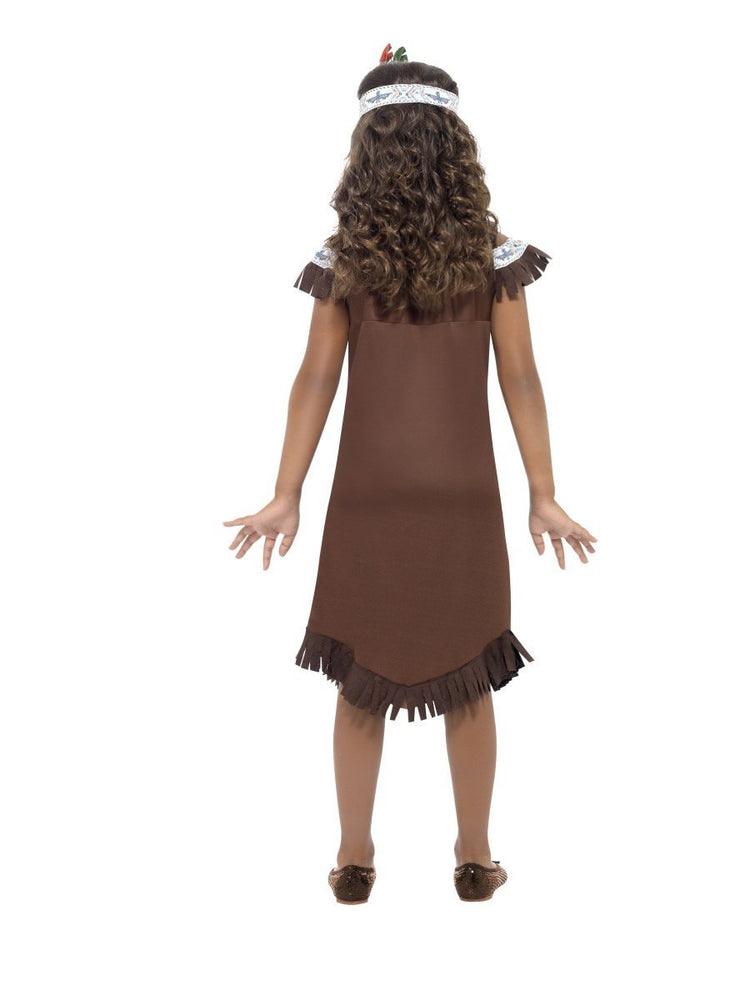 Native American Inspired Girl Costume with Feather41096