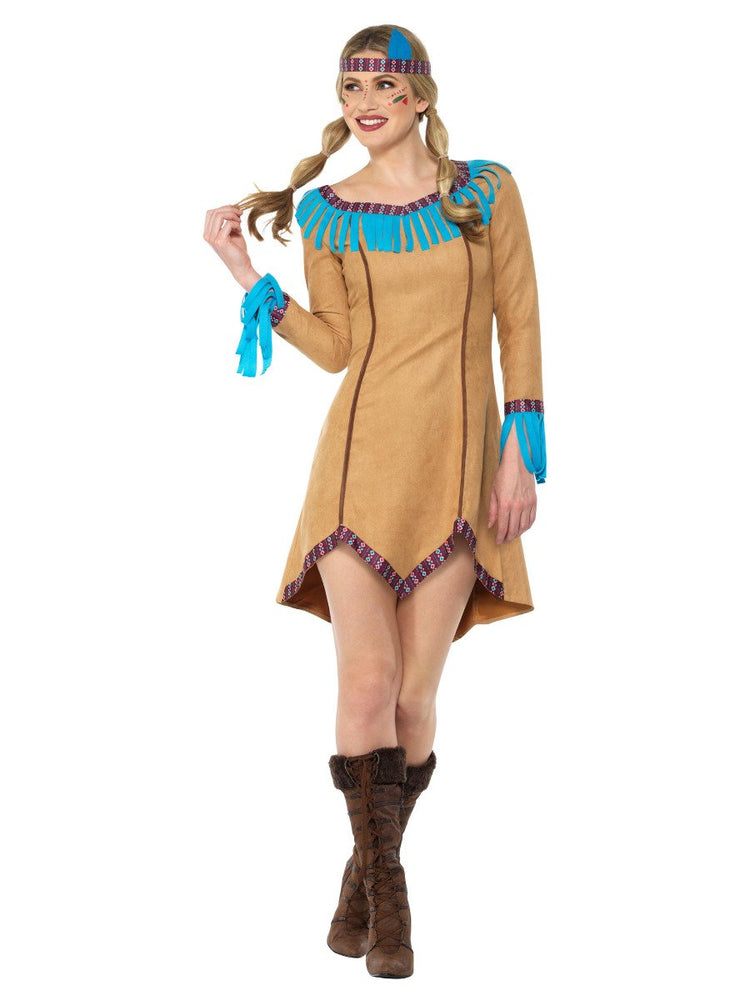 Smiffys Native American Lady Costume - 47602