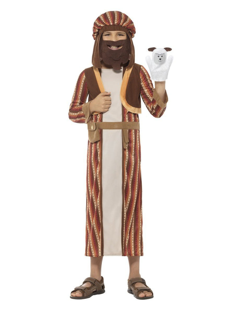 Smiffys Nativity Shepherd Costume, Kids - 48206