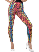 Leopard Print Leggings, Neon Colours