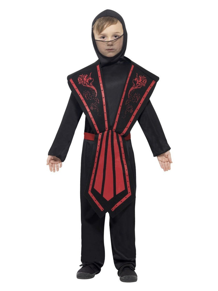 Ninja Red/Black Costume, Child