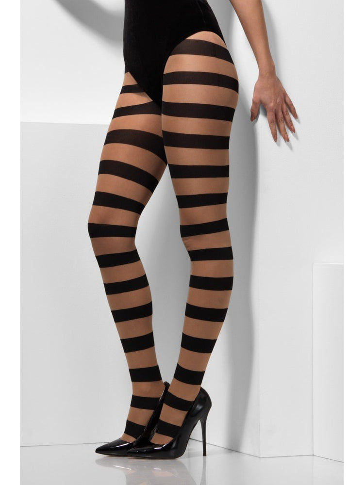Smiffys Opaque Tights, Glam Witch - 45082