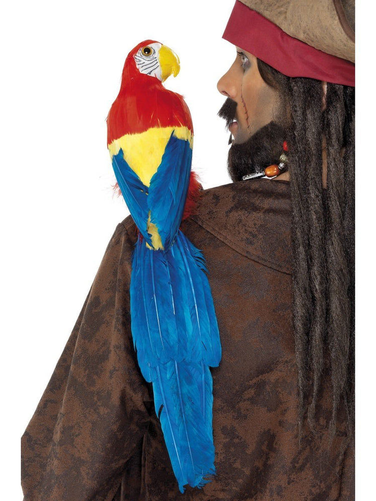 Parrot with Elastic Holder
