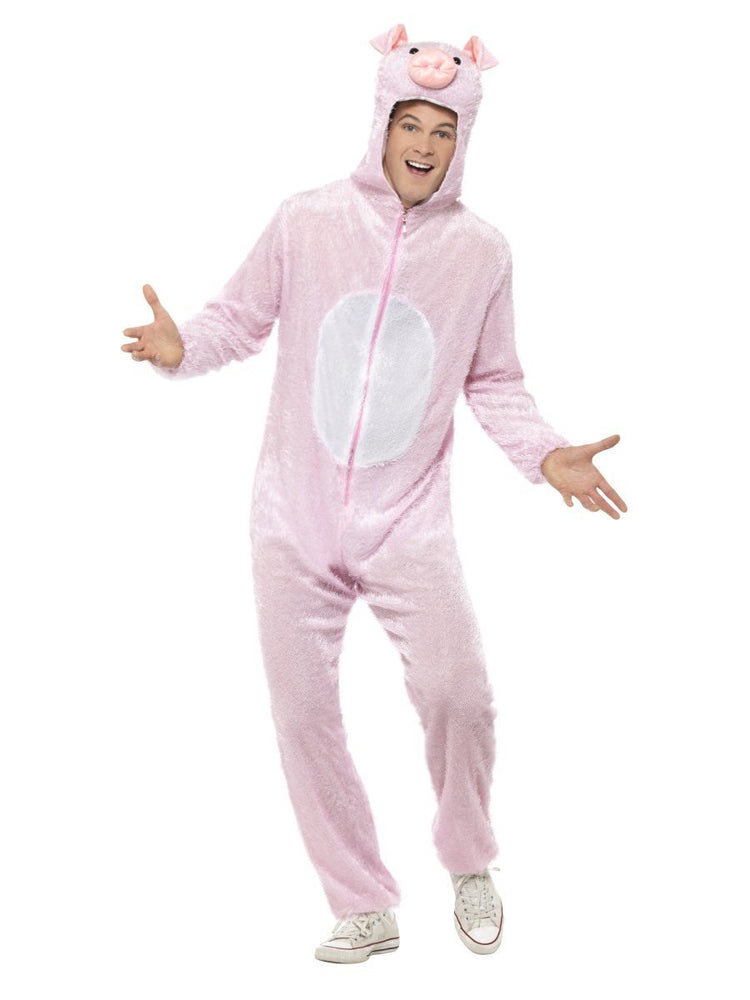 Pig Costume, Jumpsuit with Hood31669