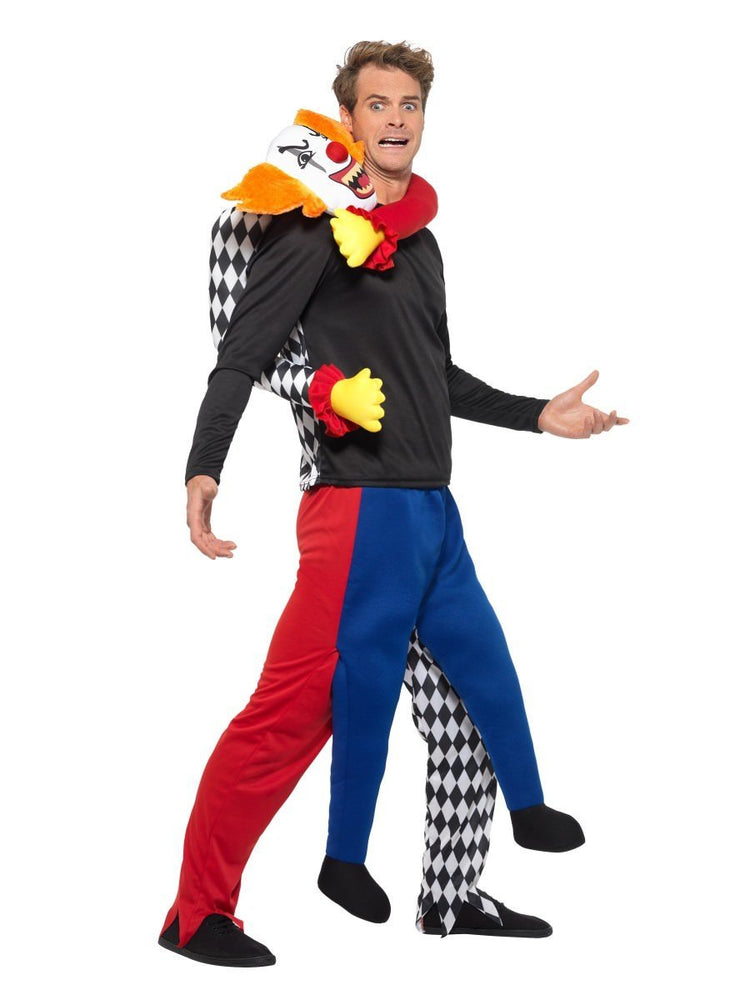 Piggyback Kidnap Clown Costume
