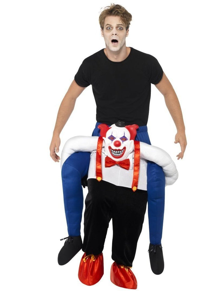 Piggyback Sinister Clown Costume