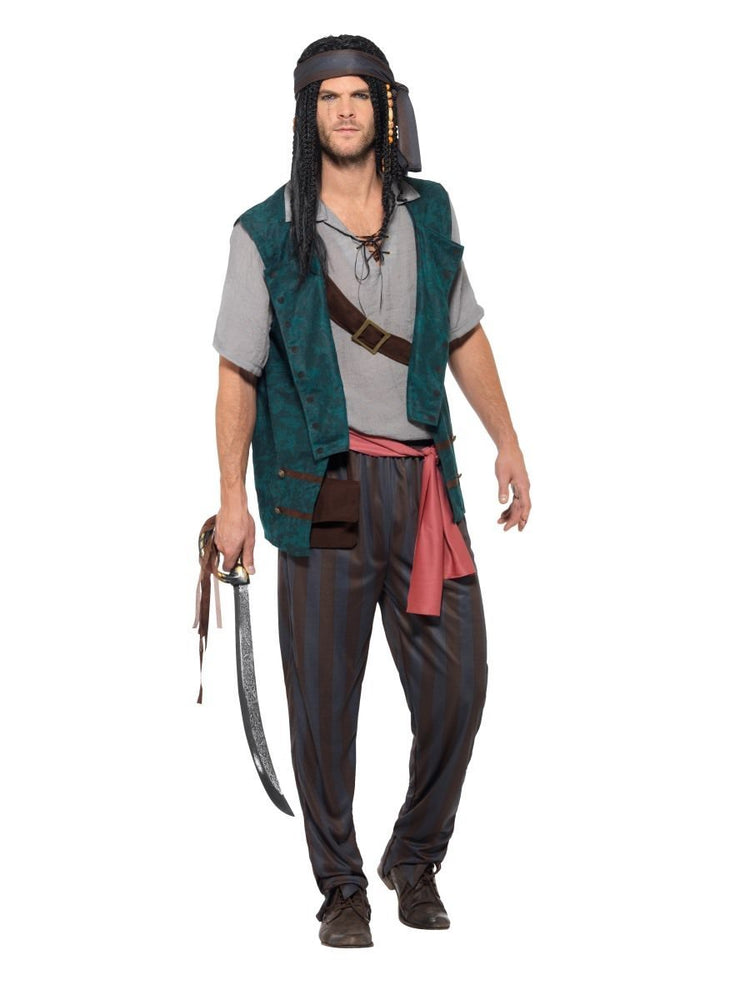 Smiffys Pirate Deckhand Costume - 47202