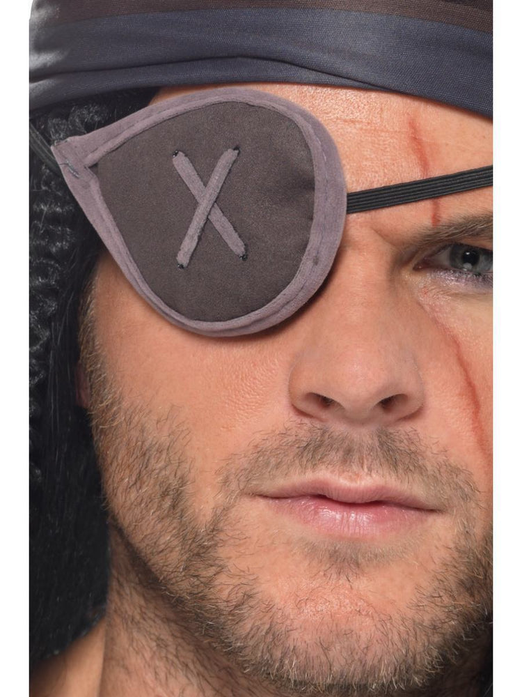 Pirate Eyepatch, Grey40379