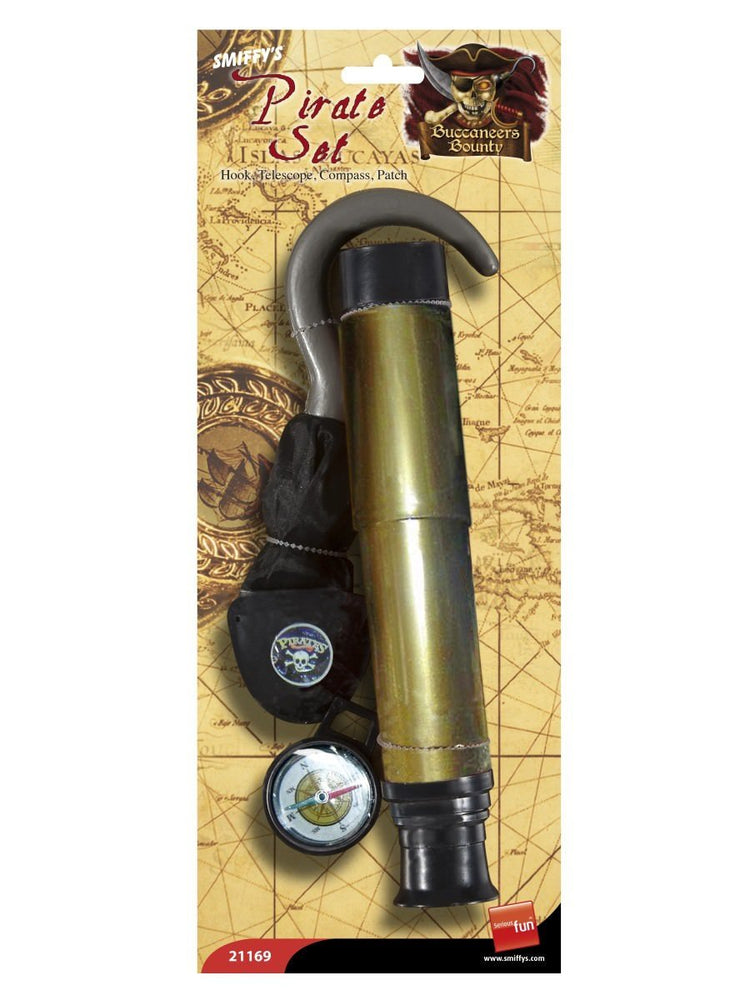 Pirate Set Hook Telescope Compass
