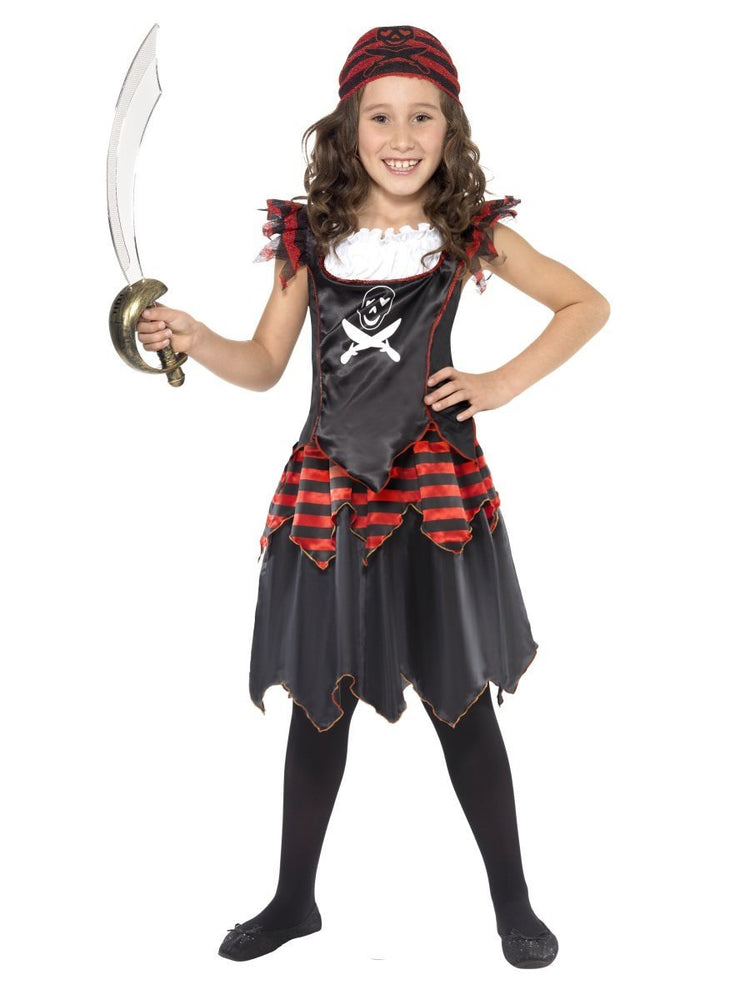Pirate Gothic Girl Costume