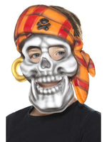 Smiffys Pirate Skull Mask - 46979