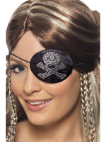 Pirates Eyepatch with Diamante Motif31955