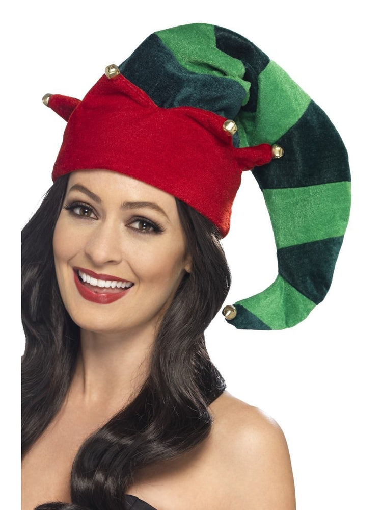 Smiffys Plush Elf Hat - 46756