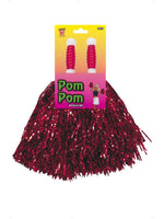 Pom pom Metallic Red