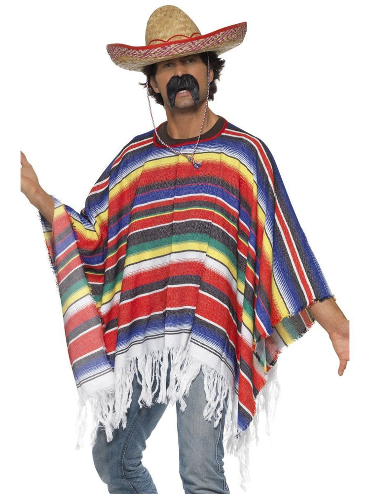 Poncho Multi Coloured