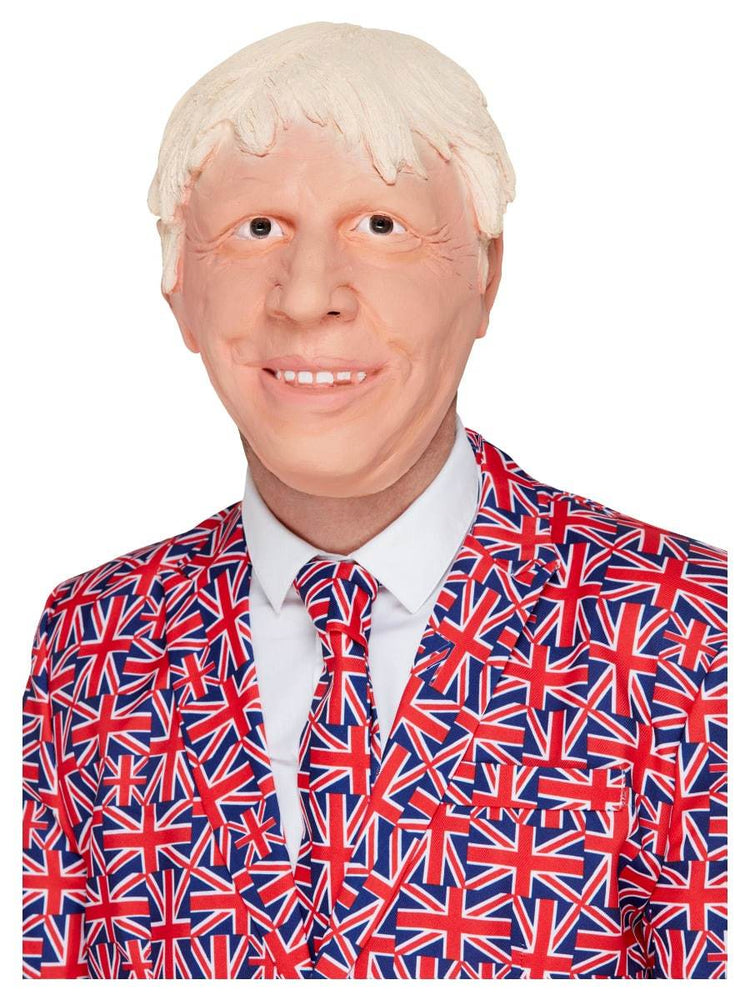 Smiffys Posh Politician Mask - 52492
