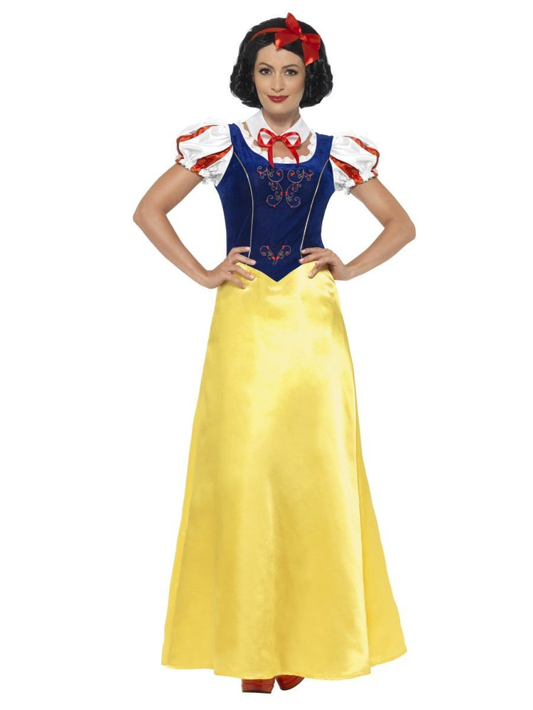 Smiffys Princess Snow Costume - 24643