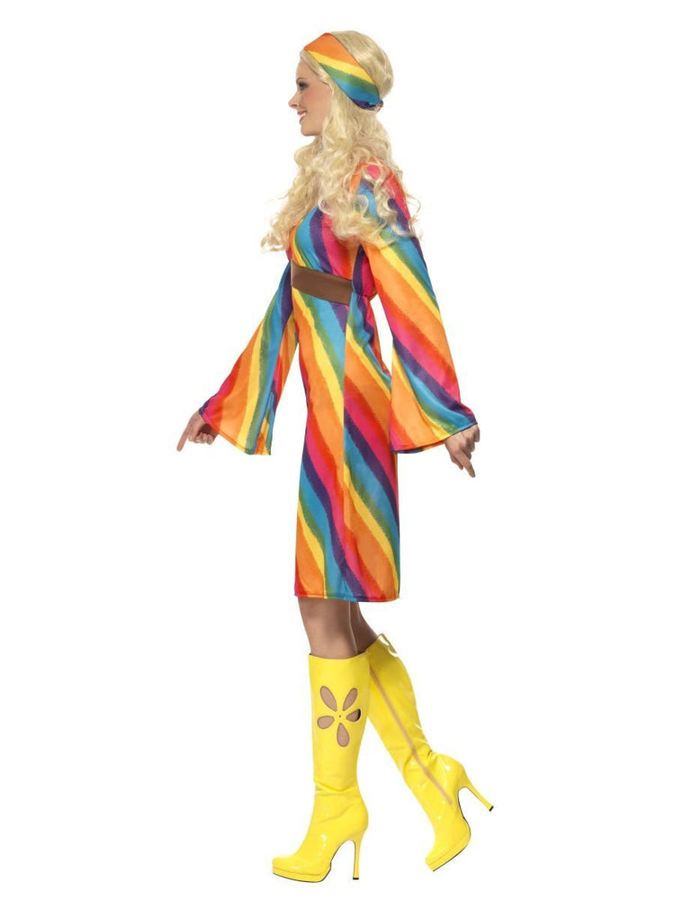 Rainbow Hippie Costume22442