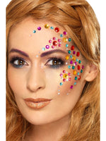 Smiffys Rainbow Jewel Face Gems - 49012