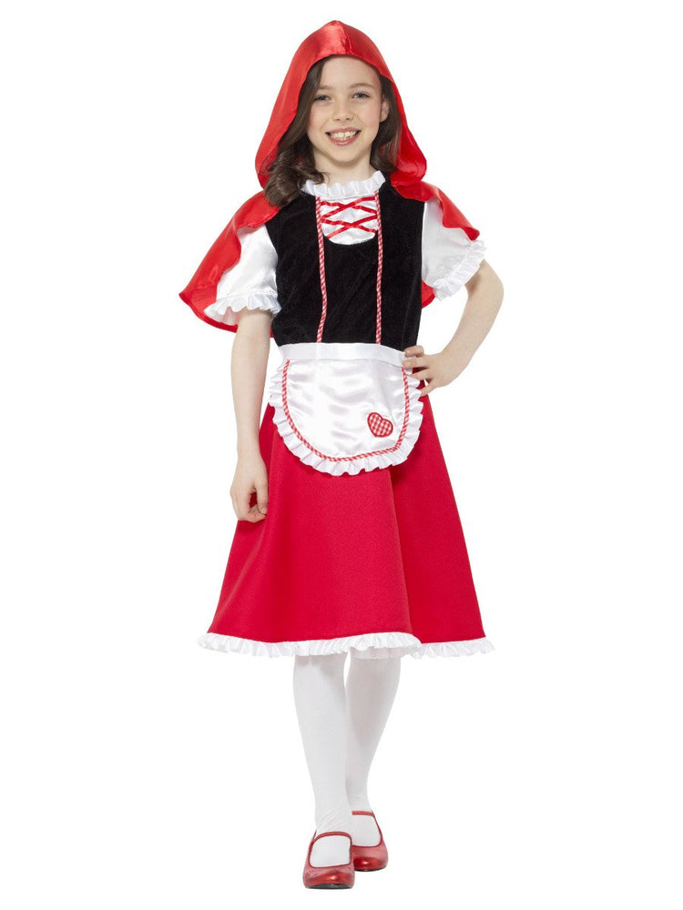 Smiffys Red Riding Hood Girl Costume - 47692