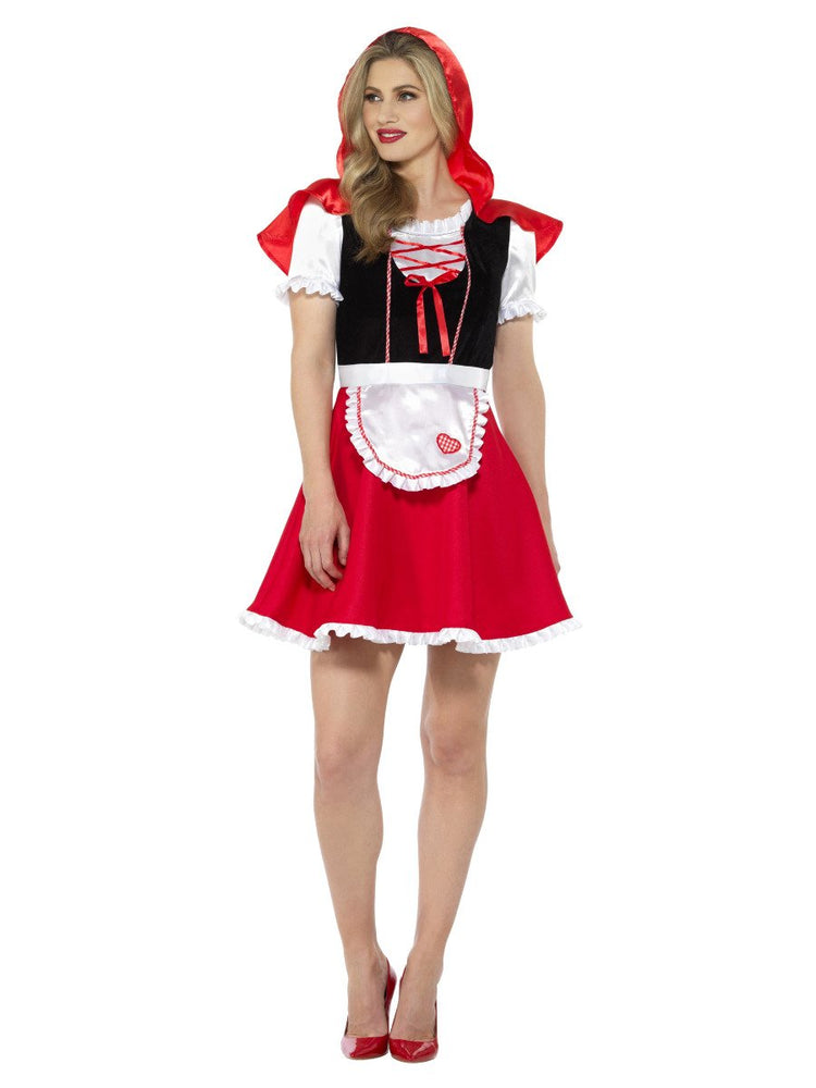 Smiffys Red Riding Hood Lady Costume - 47624
