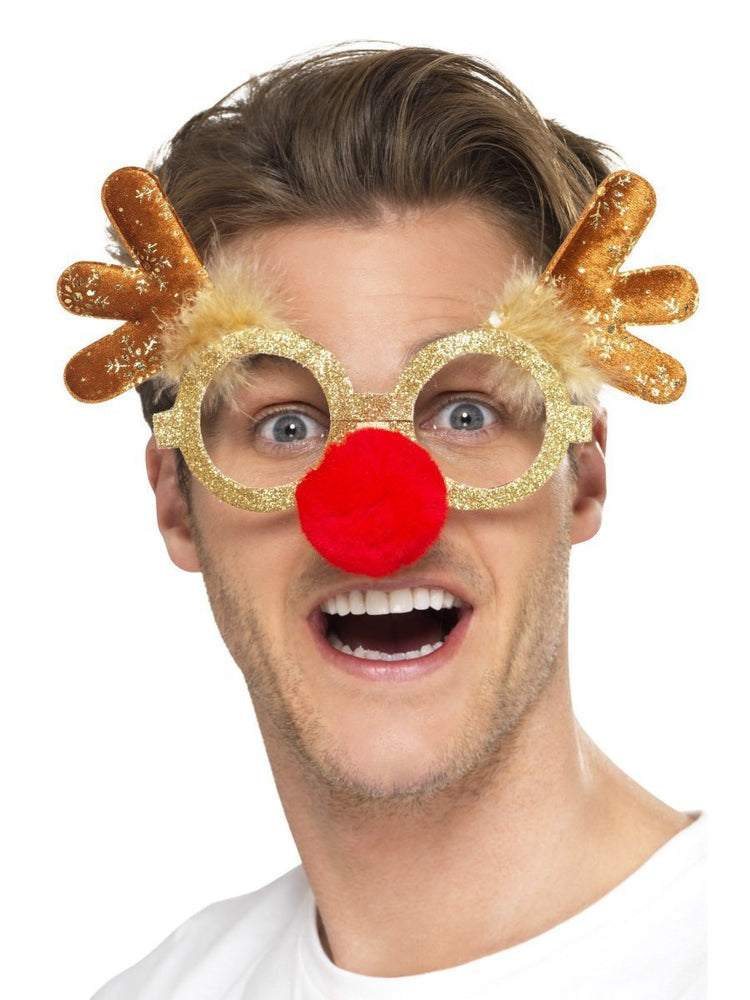 Reindeer Spec with Antlers