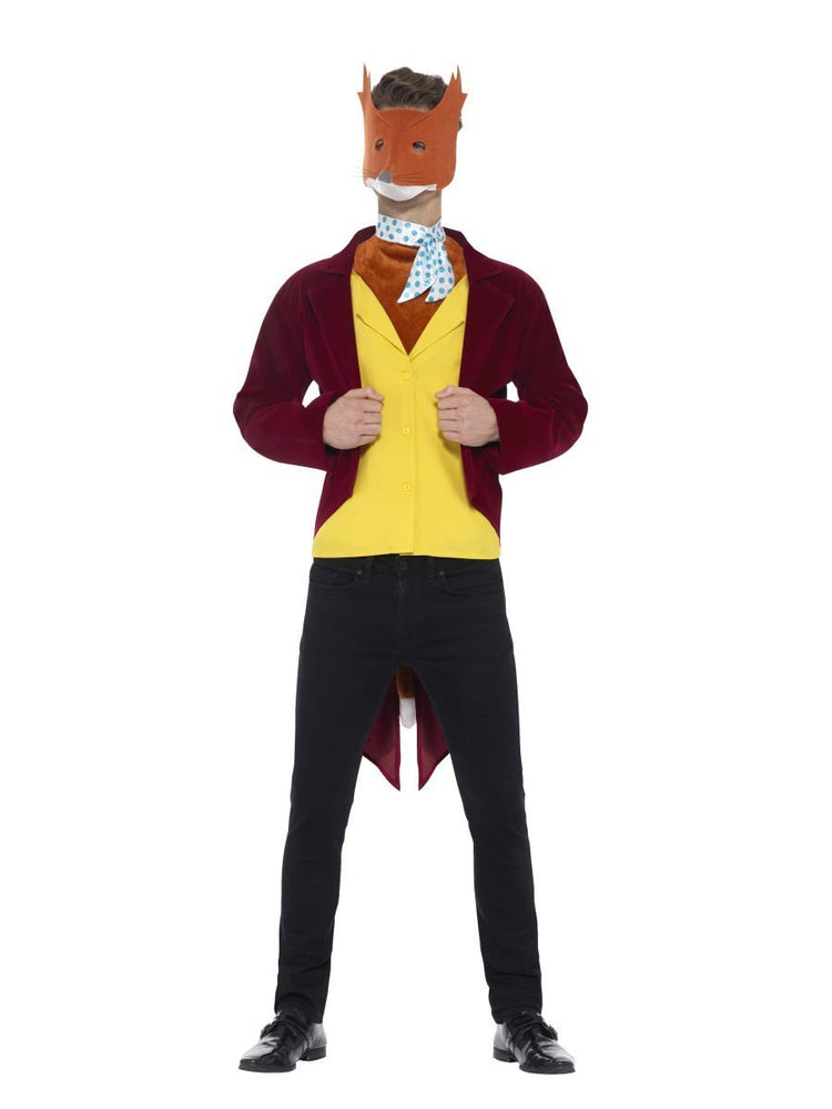 Smiffys Adult Fantastic Mr Fox Roald Dahl Costume - 42851