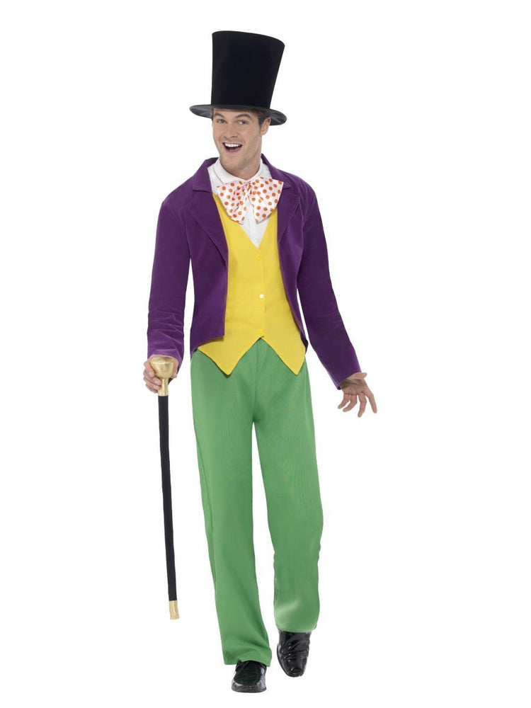 Smiffys Adult Willy Wonka Roald Dahl Costume - 42850