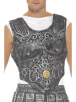 Smiffys Roman Armour Breastplate, Grey - 21993