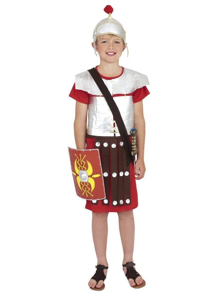 Roman Soldier Costume, Red38657