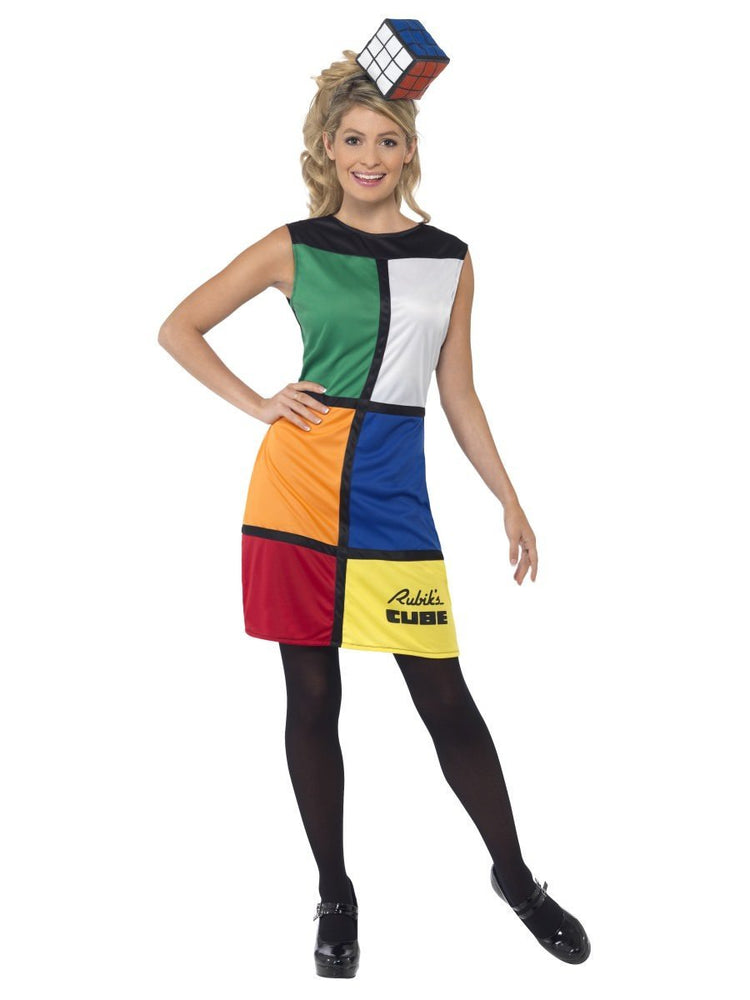Rubiks Cube Costume with Hat