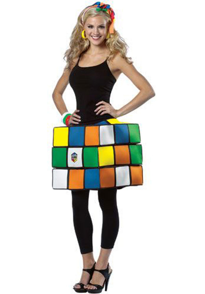 Rubiks Cube Ladies Costume