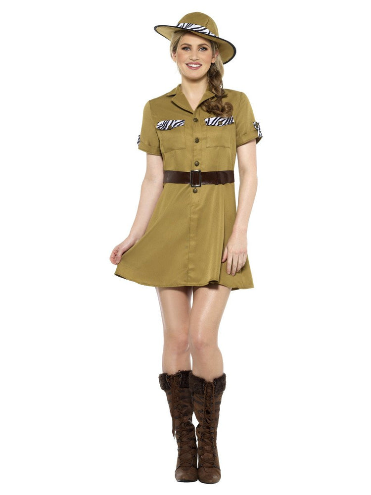 Smiffys Safari Lady Costume - 47665