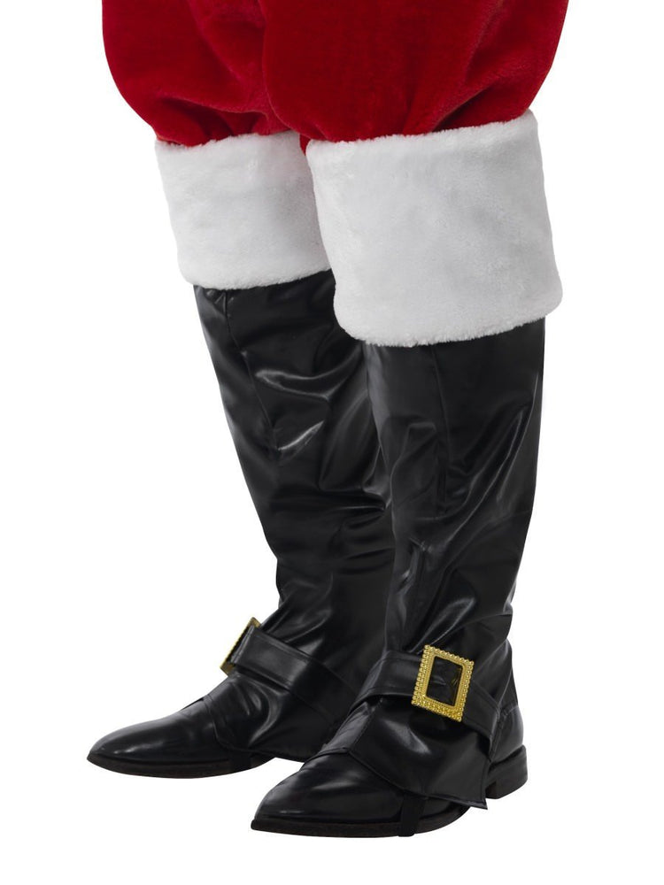 Smiffys Santa Boot Covers, Deluxe - 21419