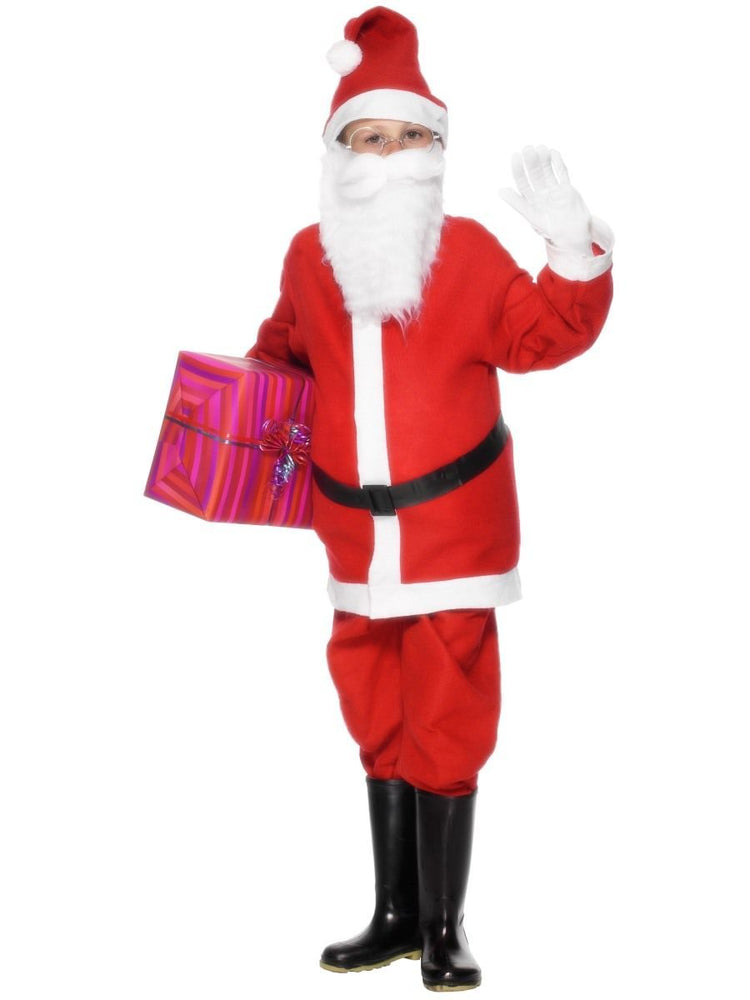 Santa Boy Costume Bargain