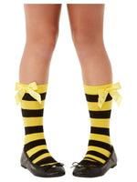 Smiffys Santoro Bee Loved Striped Socks - 52373