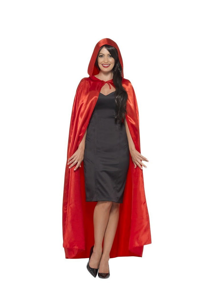 Smiffys Satin Hooded Cape - 45529