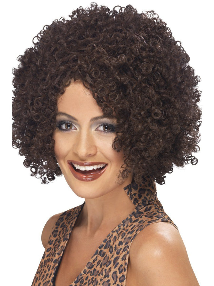 Scary Power Wig, Brown