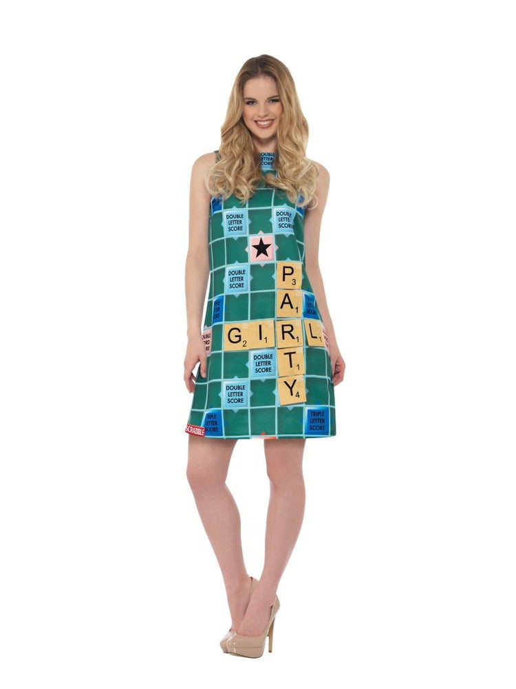 Scrabble Dress Costume