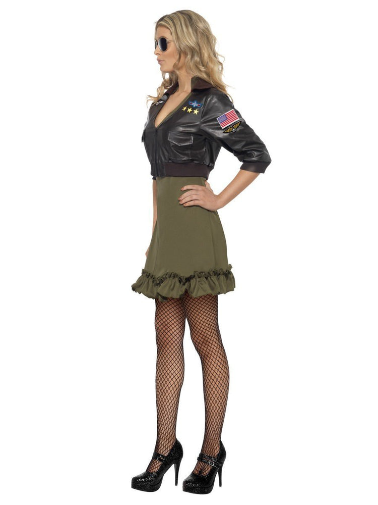 Sexy Top Gun Ladies Costume