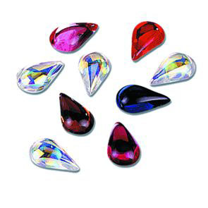Face Diamonds Teardrop