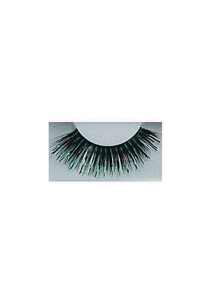 Eyelashes Glitter Green/Black /6