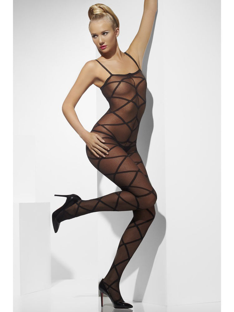 Smiffys Sheer Body Stocking - 20853